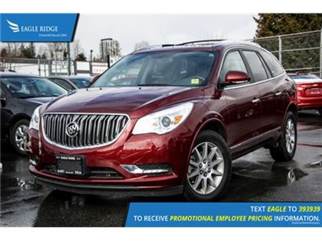2016 BUICK ENCLAVE Leather Sunroof, Heated Seats, and Satellite Radio in Coquitlam, British Columbia
