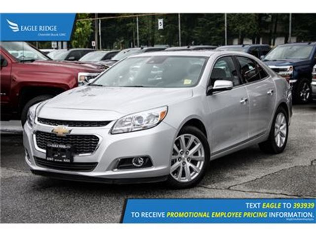 2016 chevrolet malibu ltz coquitlam british columbia used car for sale 2623474. Black Bedroom Furniture Sets. Home Design Ideas