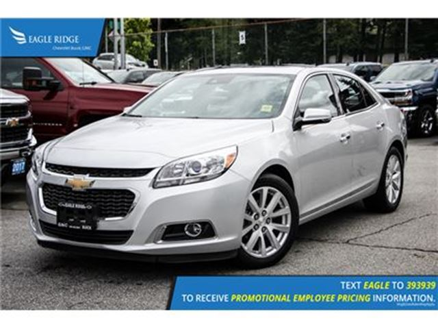 2016 chevrolet malibu ltz coquitlam british columbia used car for sale 2623476. Black Bedroom Furniture Sets. Home Design Ideas