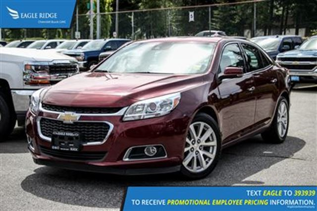 2016 chevrolet malibu ltz coquitlam british columbia used car for sale 2623479. Black Bedroom Furniture Sets. Home Design Ideas