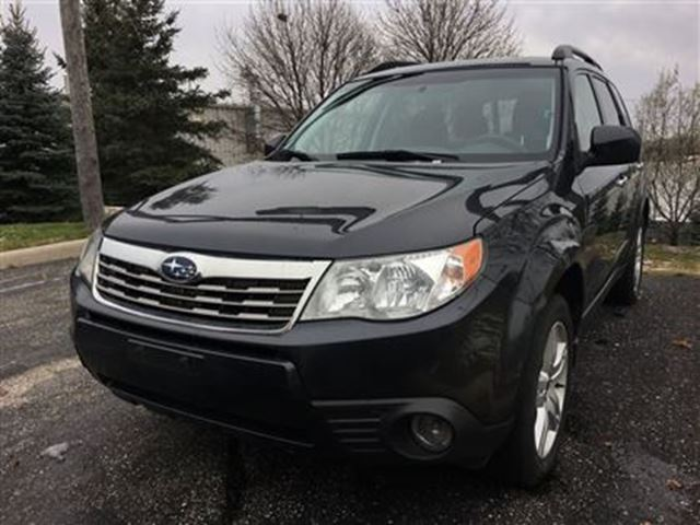 2010 subaru forester 2 5x limited waterloo ontario used. Black Bedroom Furniture Sets. Home Design Ideas