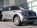 2014 Infiniti QX80 TECH/LANE DEPARTURE AND BLIND SPOT WARNING/DVD/NAVIGATION in Edmonton, Alberta