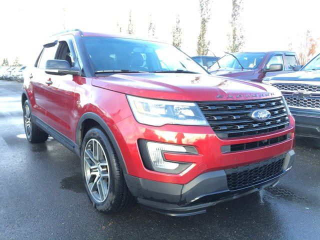 2016 ford explorer sport edmonton alberta used car for sale 2624405. Black Bedroom Furniture Sets. Home Design Ideas