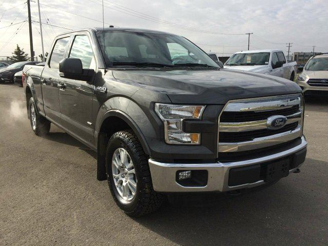 2015 ford f 150 lariat 4x4 supercrew cab 6 5 ft box 157 in wb grey team ford. Black Bedroom Furniture Sets. Home Design Ideas