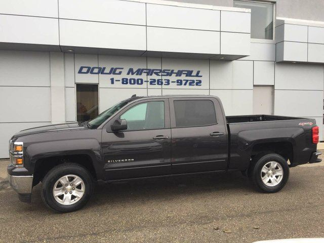 2015 chevrolet silverado 1500 1lt 4x4 crew cab 6 5 ft box 153 5 in wb grey doug marshall. Black Bedroom Furniture Sets. Home Design Ideas
