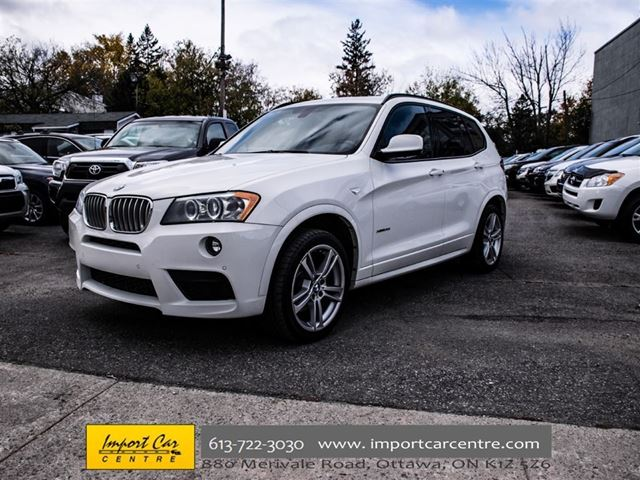 2014 bmw x3 xdrive35i ottawa ontario car for sale 2624163. Black Bedroom Furniture Sets. Home Design Ideas