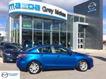 2012 Mazda MAZDA3 GSL, Heated Leather, Sunroof, One Owner, Low kms in Owen Sound, Ontario