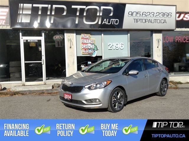 2014 KIA FORTE SX * * LOADED, Nav, Leather, Bluetooth ** in Bowmanville, Ontario