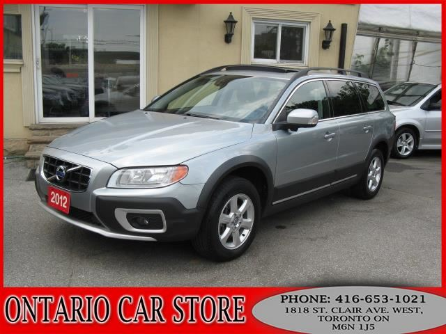 2012 volvo xc70 3 2 awd sunroof leather silver ontario. Black Bedroom Furniture Sets. Home Design Ideas