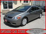 2008 Honda Civic DX Coupe !!!CARPROOF CLEAN NO ACCIDENTS!!! in Toronto, Ontario