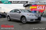 2012 Buick LaCrosse ONE OWNER LOCAL TRADE in Milton, Ontario