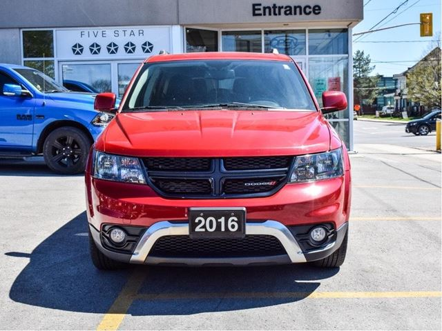 2016 dodge journey crossroad red manley motors limited for Manley motors used cars