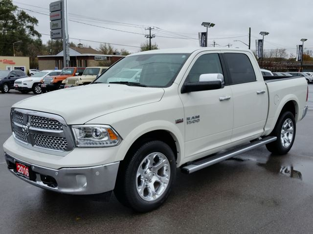 2016 dodge ram 1500 laramie 4x4 paris ontario used car for sale 2623590. Black Bedroom Furniture Sets. Home Design Ideas