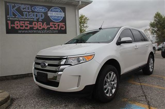 2014 ford edge limited essex ontario used car for sale 2624644. Black Bedroom Furniture Sets. Home Design Ideas