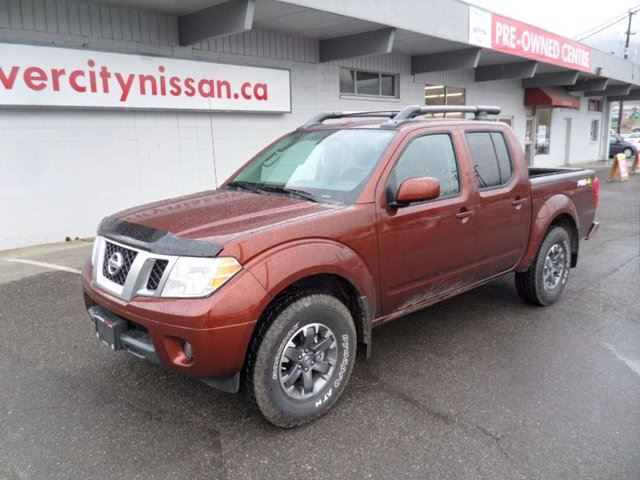2016 nissan frontier pro 4x 4x4 crew cab kamloops british columbia used car for sale 2624874. Black Bedroom Furniture Sets. Home Design Ideas