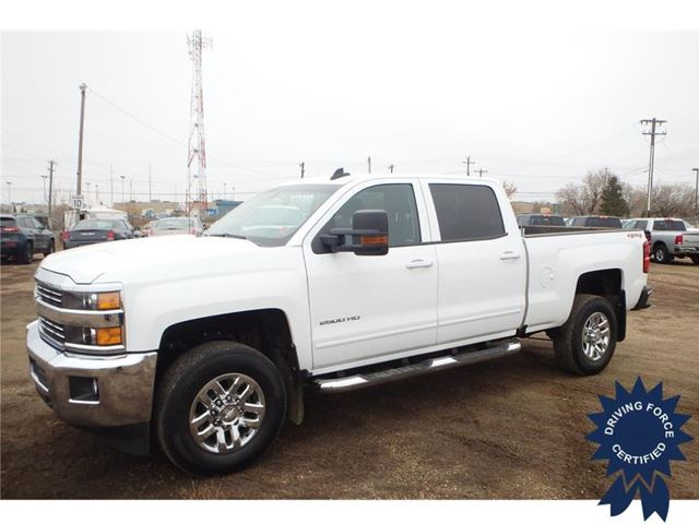 2016 chevrolet silverado 2500hd lt white driving force edmonton south. Black Bedroom Furniture Sets. Home Design Ideas
