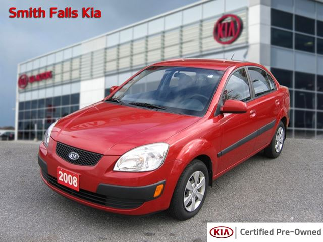 2008 kia rio red smiths falls kia. Black Bedroom Furniture Sets. Home Design Ideas