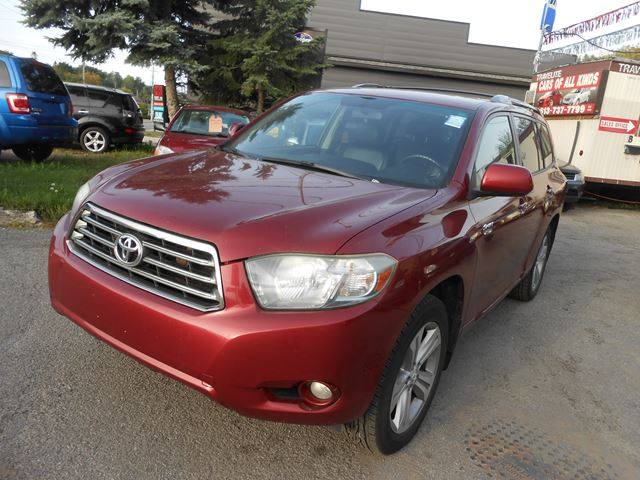 2008 toyota highlander sport orleans ontario used car for sale 2625155. Black Bedroom Furniture Sets. Home Design Ideas