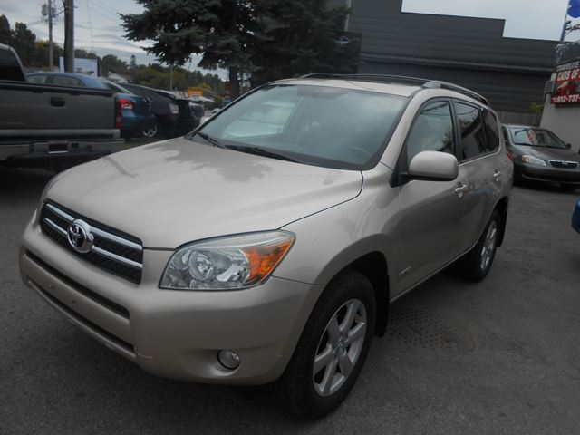 2007 toyota rav4 limited orleans ontario used car for. Black Bedroom Furniture Sets. Home Design Ideas