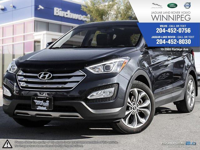 2013 hyundai santa fe limited awd w navigation loaded blue volvo land rover jaguar of. Black Bedroom Furniture Sets. Home Design Ideas