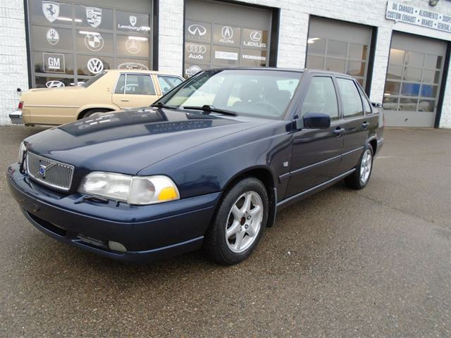 2000 Volvo S70 Se Auto Leather Heated Seats Sunroof Blue