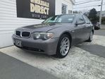 2002 BMW 7 Series SEDAN 4.4 L in Halifax, Nova Scotia