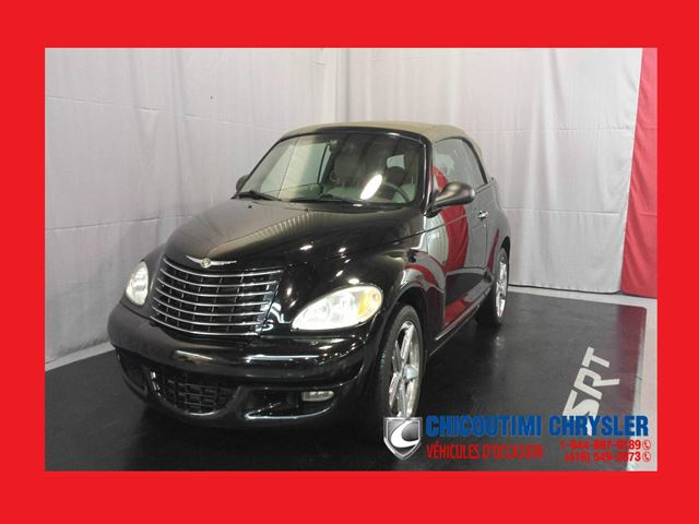 2005 chrysler pt cruiser gt turbo chicoutimi quebec. Black Bedroom Furniture Sets. Home Design Ideas