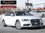 2013 Audi A4 AWD **QUATTRO** ONLY 77K! **LIGHTS PKG** CLN CARPROOF in Scarborough, Ontario