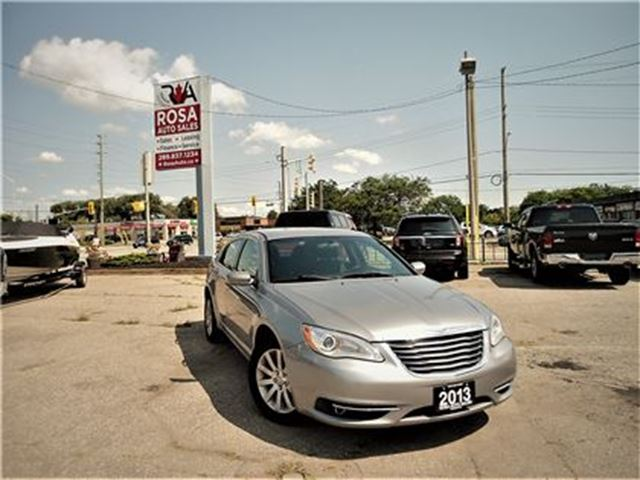 2013 CHRYSLER 200 TOURING FWD NO ACCIDENT ALL NEW BRAKES PW PD PM S in Oakville, Ontario