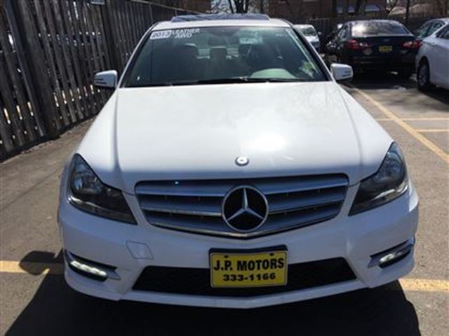 2013 mercedes benz c class c300 automatic leather for Mercedes benz sunroof