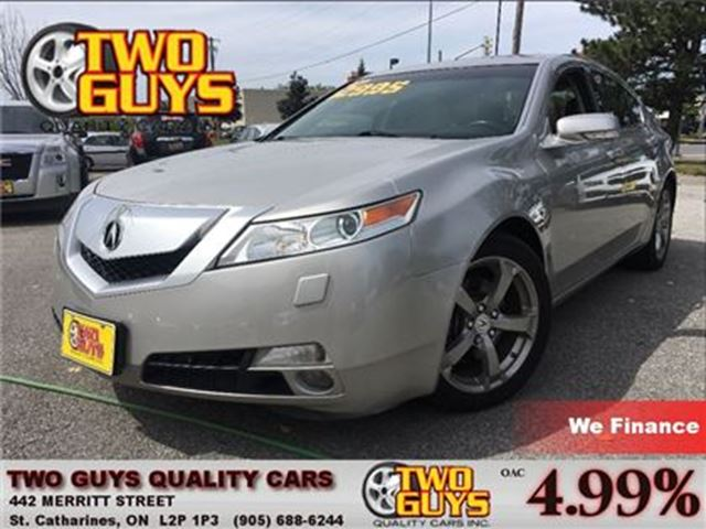 2009 ACURA TL AWD LEATHER MOON ROOF in St Catharines, Ontario