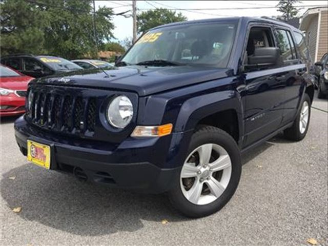 2014 JEEP PATRIOT 4wd 5SPD Alloys A/C Cruise Control in St Catharines, Ontario
