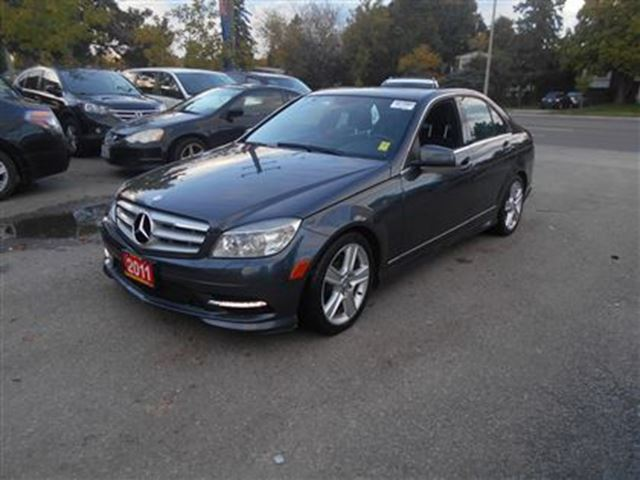 2011 mercedes benz c class navigation back up cam leather for Mercedes benz lease with bad credit