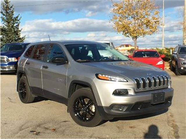 2015 Jeep Cherokee Sport 4x4 Remote Starter Heated Seats Silver Team Chrysler