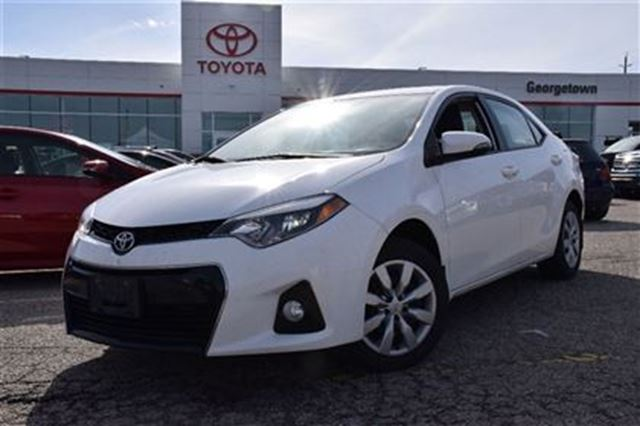 2014 toyota corolla sport model with manual 6 speed georgetown ontario used car for sale. Black Bedroom Furniture Sets. Home Design Ideas