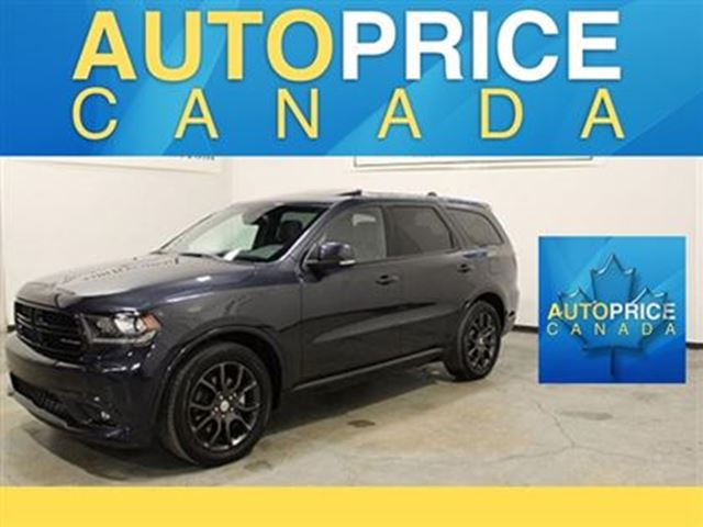 2016 Dodge Durango R/T 7PASS NAVIAGTION MOONROOF in Mississauga, Ontario
