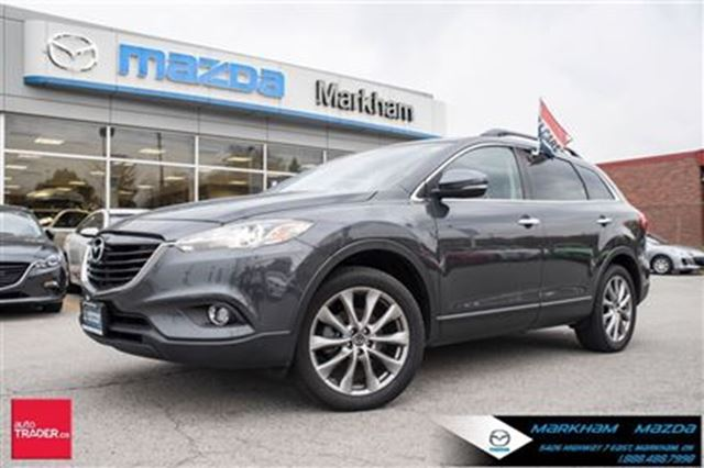 2015 mazda cx 9 gt mazda certified preowned awd leather moonroof m markham ontario used car. Black Bedroom Furniture Sets. Home Design Ideas