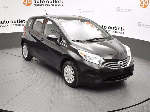 2015 nissan versa 1 6 sv 4dr hatchback black go auto. Black Bedroom Furniture Sets. Home Design Ideas