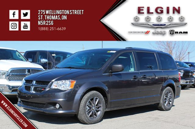2017 dodge grand caravan sxt premium plus st thomas ontario used car for sale 2626641. Black Bedroom Furniture Sets. Home Design Ideas