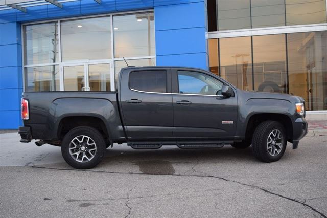2016 gmc canyon sle all terrain package one owner local trade milton ontario used car for. Black Bedroom Furniture Sets. Home Design Ideas