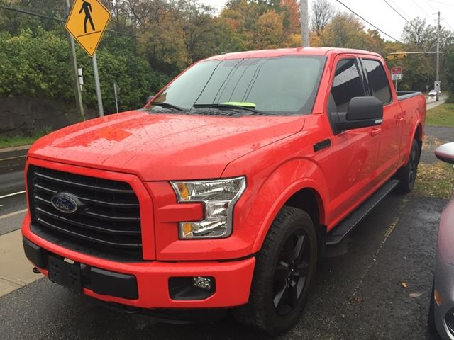 2015 FORD F-150 XLT-SPORT CREWCAB in Brockville, Ontario