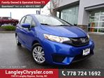2015 Honda Fit LX LOCALLY DRIVEN & ACCIDENT FREE in Surrey, British Columbia