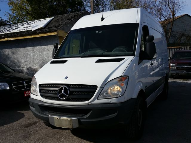 2011 mercedes benz sprinter scarborough ontario used for Mercedes benz scarborough