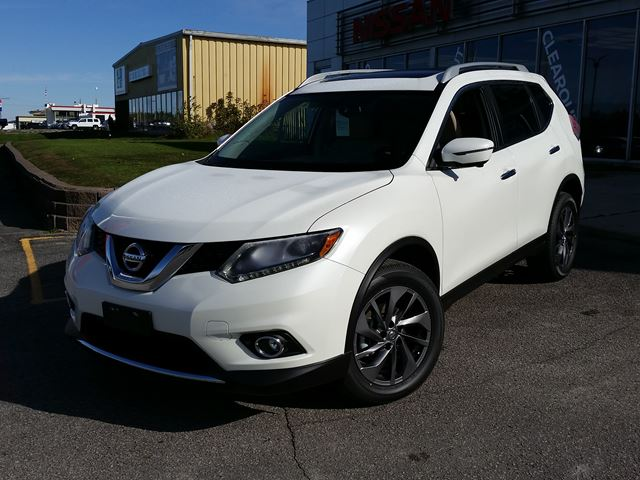 2016 nissan rogue sl orillia ontario new car for sale 2627436. Black Bedroom Furniture Sets. Home Design Ideas