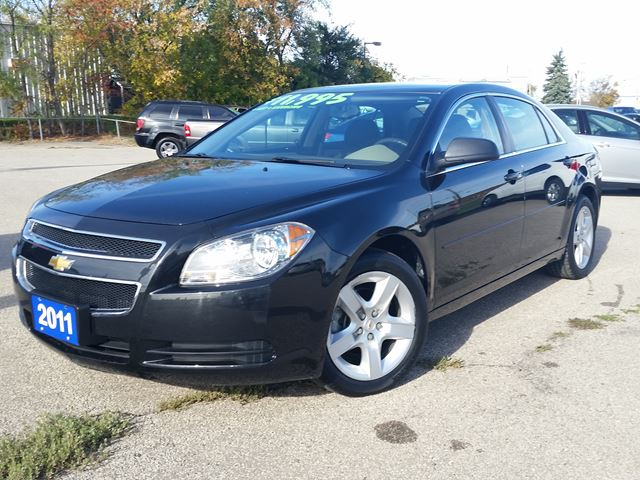 2011 chevrolet malibu ls black durham automotive. Black Bedroom Furniture Sets. Home Design Ideas