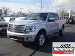 2013 Ford F-150 Lariat Crew Cab! Balance Of The Factory Warranty! in Richmond, British Columbia