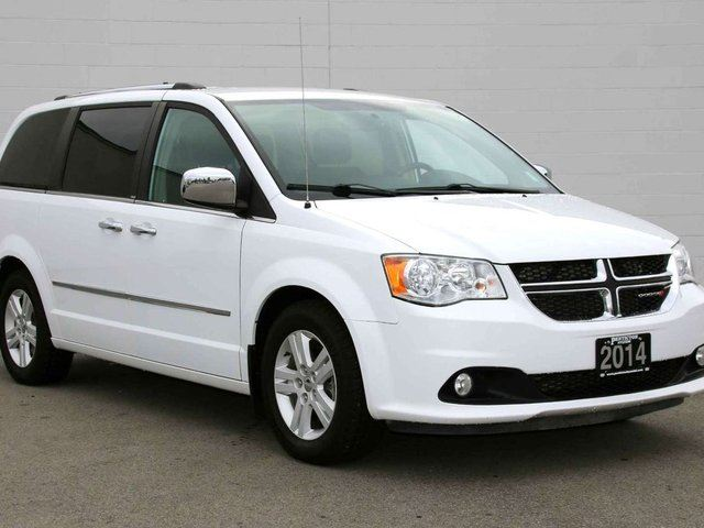 2014 DODGE GRAND CARAVAN Crew Stow 'N Go in Kelowna, British Columbia