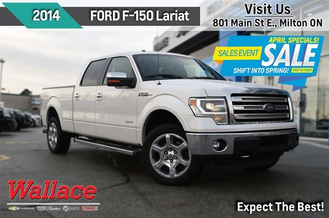 2014 ford f 150 lariat milton ontario used car for sale 2628204. Black Bedroom Furniture Sets. Home Design Ideas