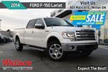2014 Ford F-150 Lariat CREW CAB/TOW PACK/MOONROOF/NAV/REMOTE START in Milton, Ontario