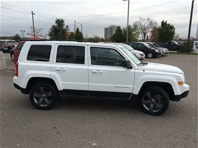 2015 jeep patriot high altitude georgetown ontario used car for sale 2629045. Black Bedroom Furniture Sets. Home Design Ideas